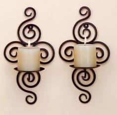 wedding decoration Iron pastoral style wrought iron candle holders Wall candlestick walls King mural
