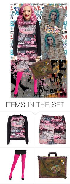"""""""Graffiti doll art"""" by gothbear13 ❤ liked on Polyvore featuring art"""