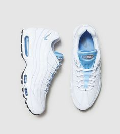 9d681c73a0fd Nike Air Max 95 chalk blue Nike Air Max White