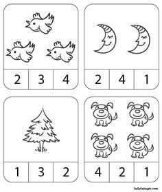 Educational Activities For Toddlers, 3 Year Old Activities, Preschool Activities, All About Me Preschool, Preschool Writing, Teaching Numbers, Numbers Preschool, Free Kindergarten Worksheets, Worksheets For Kids