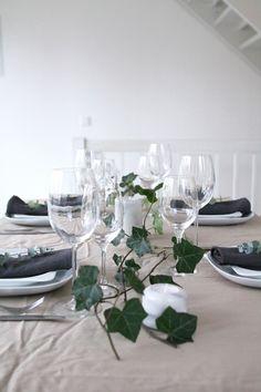 Joulukattaus, Christmas table, kattaus, joulu  - muotoseikka\