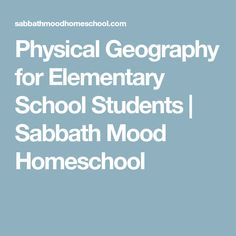 geography and history in primary school Geography the national curriculum for geography aims to ensure that all pupils: develop knowledge of the location of globally significant places, including defining their physical and human characteristics.