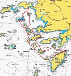 vacation sailing routes - Google Search