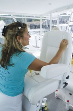 Great boat cleaning tips. Might not need to wax after all.