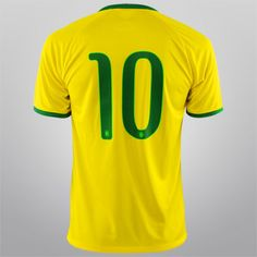 bda00d3b66 Camisa Seleção Brasil I 14 15 nº 10 - Torcedor Nike Masculina - Compre Agora