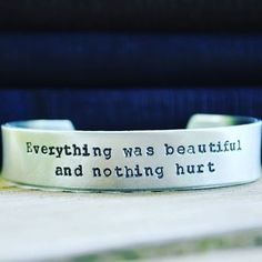 I'm excited to now be offering custom cuffs in this wider 1/2 inch size!  These are perfect for guys as well.  I think matching his and hers cuffs would be so sweet. (Or his and his.  Or hers and hers.) These likely won't be available once the holiday season kicks in and definitely not for this price so if you have something in mind now would be a great time to get one.  2 lines of text up to 45 characters each line. Available here:  http://ift.tt/1Nipgu8