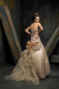 St Pucchi Couture wedding dress