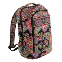 vera bradley backpack - I love this pattern!