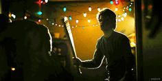 """Steve's badass bat spin"" (Joe Keery as Steve Harrington, Stranger Things)"