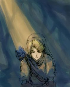 Link in the Forest by ~pancake-waddle on deviantART