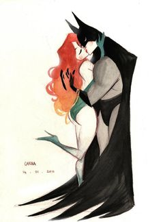 Batman & Poison Ivy - Bruce Timm poison ivy is my favorite batman villainess