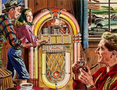 1948 ... Wurlitzer  'It's Fun to Play!' by x-ray delta one, via Flickr