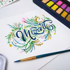 'MozArt Watercolor Paints' are perfect for creating vibrant and eye-catching illustrations (Available on Amazon!) . Artwork made by lettersbaby . . #MozArtSupplies #watercolor #watercolour #colorful #brush #drawing #painting #illustration #drawingoftheday #instadaily #sketching #lettering #calligraphy #vibrant #art #artists #artwork #colour #watercoloreffects #letters #art #instadrawing #draw #calligraphyoftheday #NoFilter #watercolorpaint #illustrationoftheday #watercoloreffect…