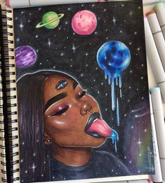 Now this art! African American Art, African Art, Vexx Art, Arte Dope, Art Et Design, Drawn Art, Copic Art, Black Love Art, Wow Art