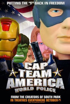 Cap Team America World police - Avengers