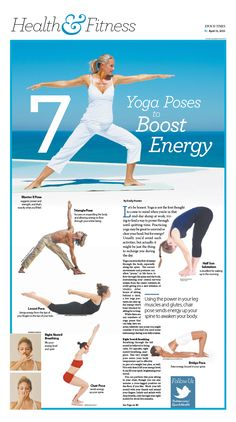 7 Yoga Poses to Boost Energy|Epoch Times #Health #Fitness #newspaper #editorialdesign