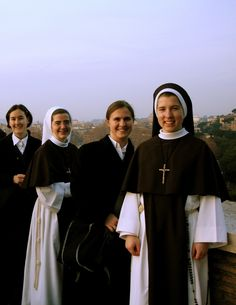 In 2007, some of our Sisters went on a pilgrimage to Rome. All of these Sisters are now perpetually professed!