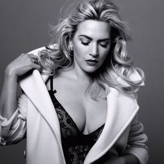 #Portrait Kate Winslet talks her new husband, turning 40.#retrato de la actriz Kate Winslet a los 40