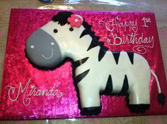Zebra 1st Birthday Cakes for Girls | Recent Photos The Commons Getty Collection Galleries World Map App ...