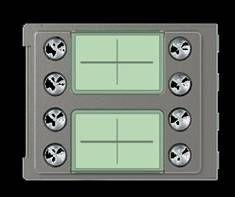 #352185 Frontal 8 pulsadores