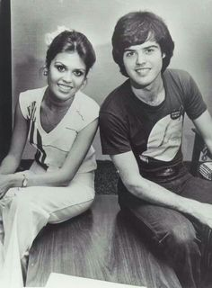 DONNY AND MARIE OSMOND-April 1977...