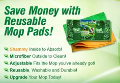 green glider mop pads by the green glider company, LLC