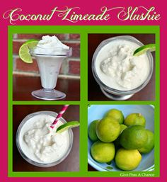 Such a great refreshing drink. Coconut and lime go perfect together.