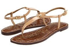 5801fad57091 Sam Edelman Gigi Almond - Zappos.com Free Shipping BOTH Ways T Strap Sandals