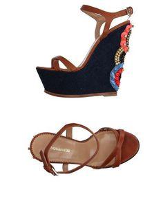 Prezzi e Sconti: #Dsquared2 sandali donna Cammello  ad Euro 581.00 in #Dsquared2 #Donna calzature sandali