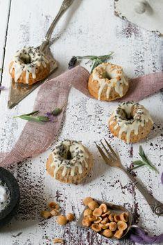 Hazelnut Lavender Mini Bundt Cake | Foodlovin'