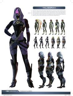 Tali Concepts - Mass Effect 3