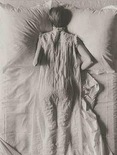 artnet Galleries: Girl in Bed by Irving Penn from Contemporary Works / Vintage Works, Ltd.  How I feel today...