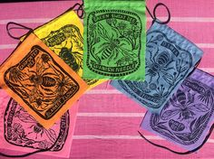 Native Bee Prayer Flag Set