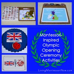 Montessori-Inspired Olympic Opening Ceremony Activities and Olympics Blog Hop