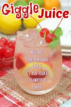 Party Drinks, Cocktail Drinks, Cocktail Recipes, Birthday Drinks, Pink Cocktails, Pink Drinks, Summer Cocktails, Flavored Vodka Drinks, Yummy Drinks