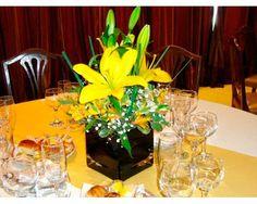 Mejores 26 Imagenes De Centros De Mesa Flores Naturales En Pinterest - Centros-de-mesa-de-flores-naturales