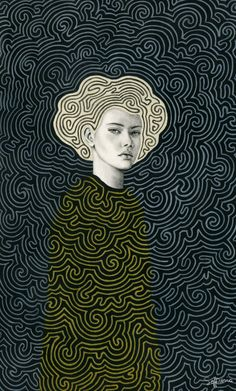 Vlada Art Print by Sofia Bonati