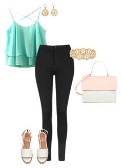 """spring"" by misell28 on Polyvore featuring Topshop, Eddie and M&Co"
