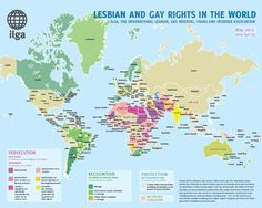 Map: #LGBT rights around the world