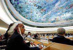 David Archambault II, capo della tribù degli Standing Rock Sioux, è intervenuto al Consiglio delle Nazioni Unite a Ginevra #ICYMI per denunciare tutti i rischi che deriveranno dalla costruzione del Dakota Access Pipeline, ''l'oleodotto che minaccia il fiume che ci fornisce l'acqua e minaccia le vite dei nostri bambini non ancora nati'' #DakotaAccessPipeline #NODAPL #standingrocksioux #davidarchambaultii