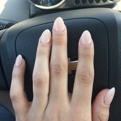 short almond nails - Google Search...
