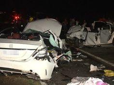 'Só escutei um grito', diz sobrevivente de acidente que matou sete pessoas