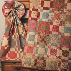 """Grab your fat quarters and get ready to make this quick and easy quilt!    This fun beginner quilt is the perfect quick project. With 3 sizes to choose from, you can make them up quickly and give as gifts or keep them for yourself.    Approximate finished sizes:    Crib: 45"""" x 63"""" using 12 fat quarters  Lap: 63"""" x 72"""" using 20 fat quarters  Bed: 81"""" x 90"""" using 30 fat quarters"""