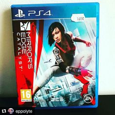 Have you played Mirrors Edge?  Credit @eppolyte  #mırrorsedgecatalyst #sony #playstation #playstation4 #ps4 #ea #mirroredges #electronicarts #dice #gaming #videogameaddict #jeuvideo #jeuxvideo #xbox #geek #geeklife #mario #zelda #sonic