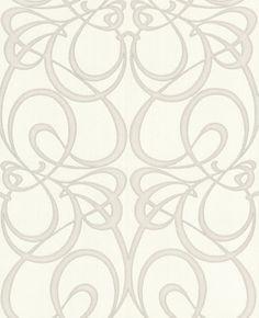 54 Trendy Home Wallpaper Art Deco White And Silver Wallpaper, White And Silver Bedroom, Metallic Wallpaper, Damask Wallpaper, Trendy Wallpaper, Designer Wallpaper, Pattern Wallpaper, Paintable Wallpaper, Beautiful Wallpaper