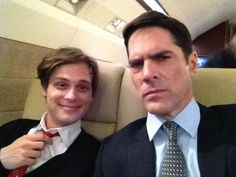 Criminal Minds suit love. I adore these two.