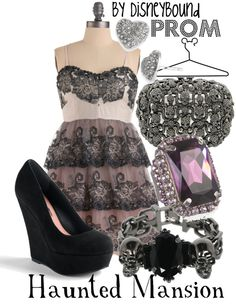 """""""Haunted Mansion"""" by lalakay ❤ liked on Polyvore"""
