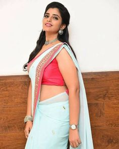Event Photos, Still Image, Beautiful World, Be Still, Sari, Actresses, Crop Tops, Anchors, Telugu