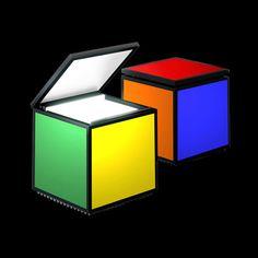 Cini&Nils cuboluce table light pentacolore