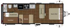Folded Gingham: The Camper Redo....floor plans